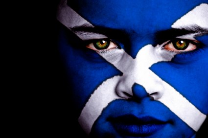 Scottish football fan