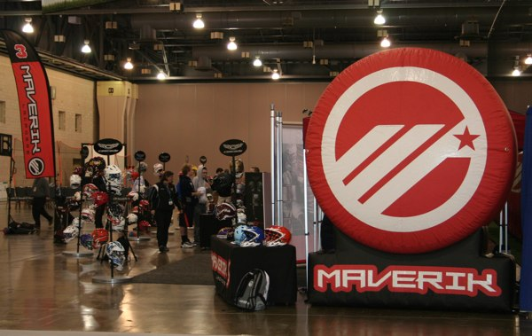 Maverik gear area.