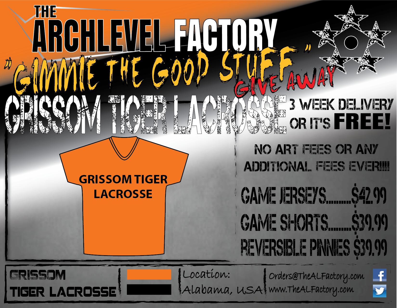 Grissom Tiger Lacrosse