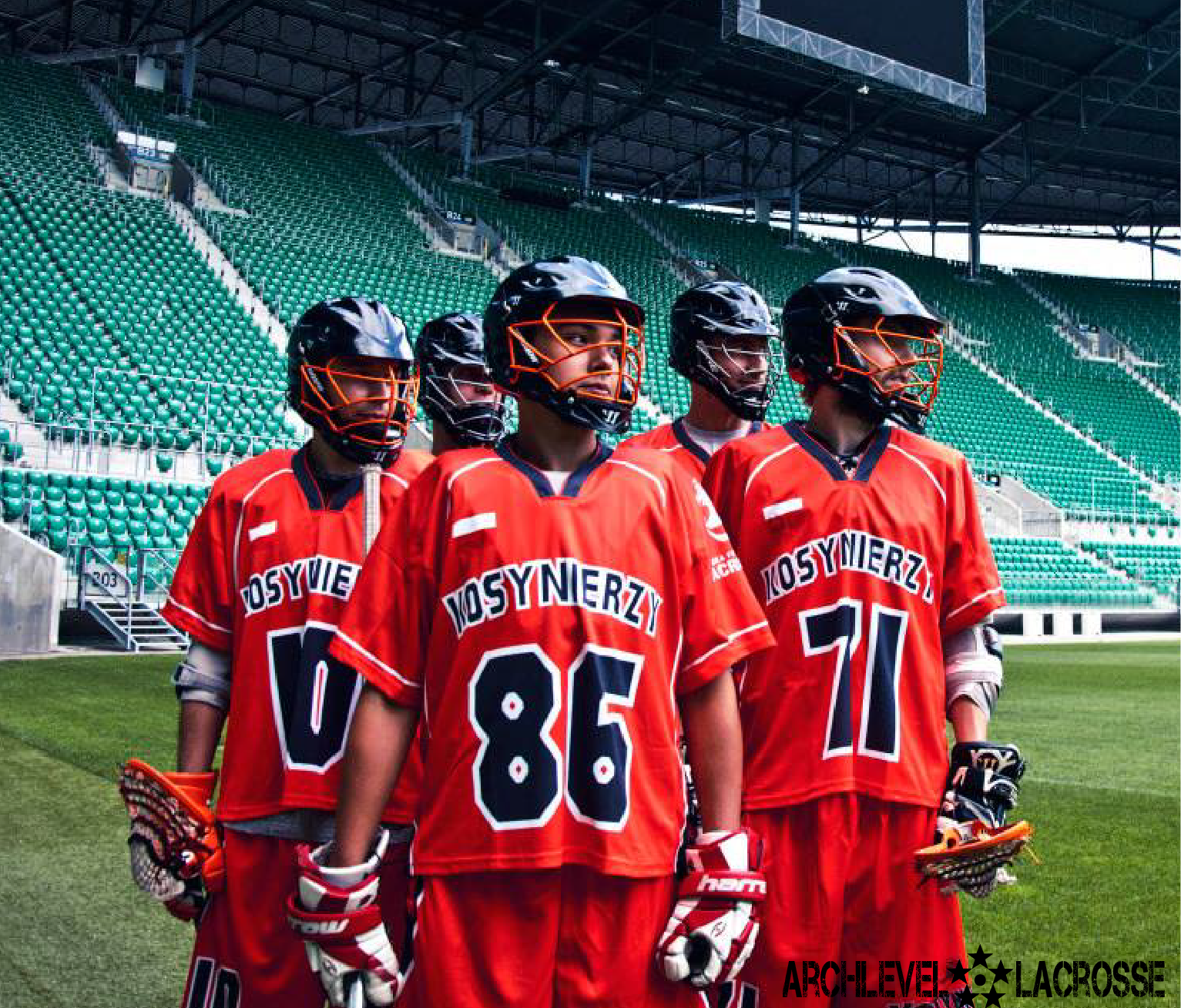 Wroclaw Lacrosse Uniforms ArchLevel