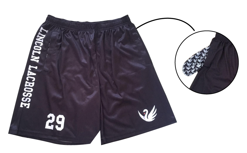 Lincoln Lacrosse Shorts with Pockets - ArchLevel Lacrosse