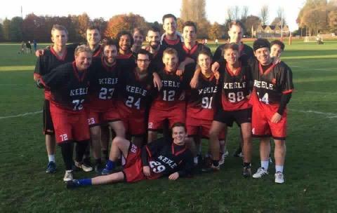 Keele University Team Photo ArchLevel Lacrosse